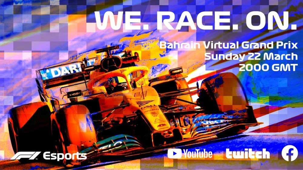 F1 Esports Virtual Grand Prix II. Foto: Reprodução