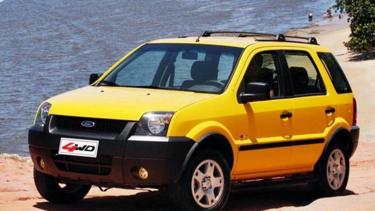 O Ford EcoSport inaugurou o segmento de SUVs compactos no Brasil. Foto: Divulgação.