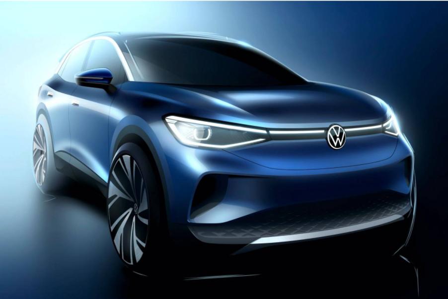 """ID.4: o carro elétrico da Volks tema da pegadinha da """"Voltswagen""""."""