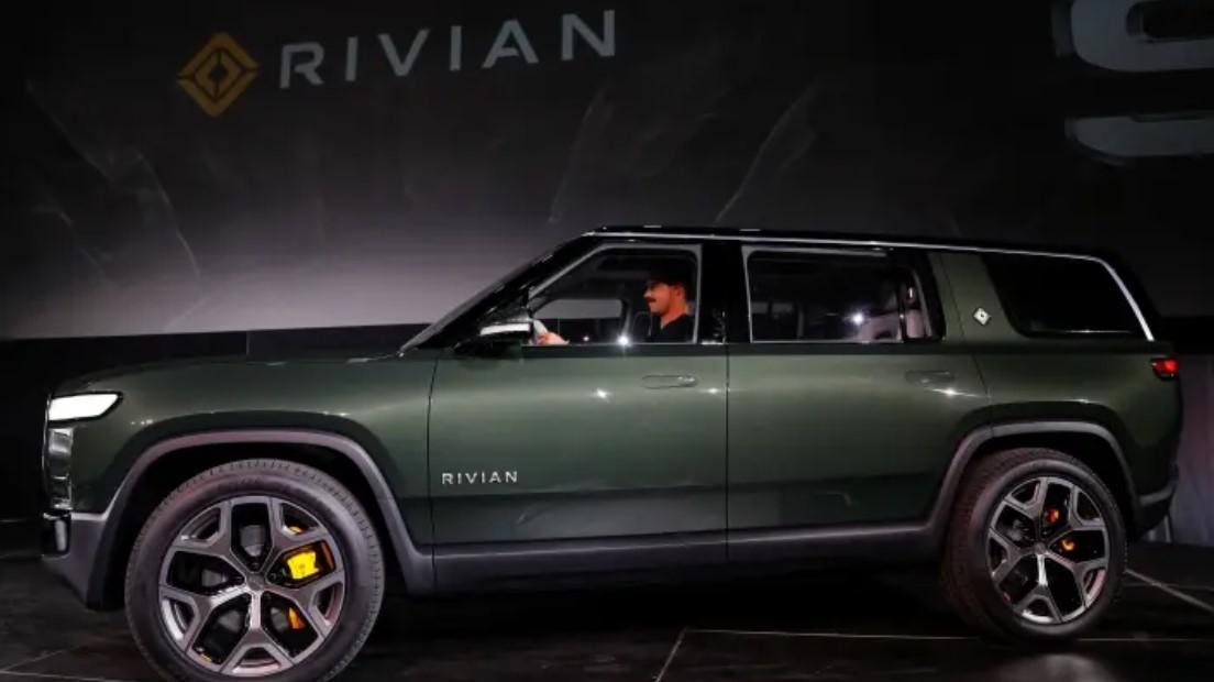 O modelo R1S SUV da Rivian no Los Angeles Auto Show de 2018 (Foto: Mike Blake/Reuters)
