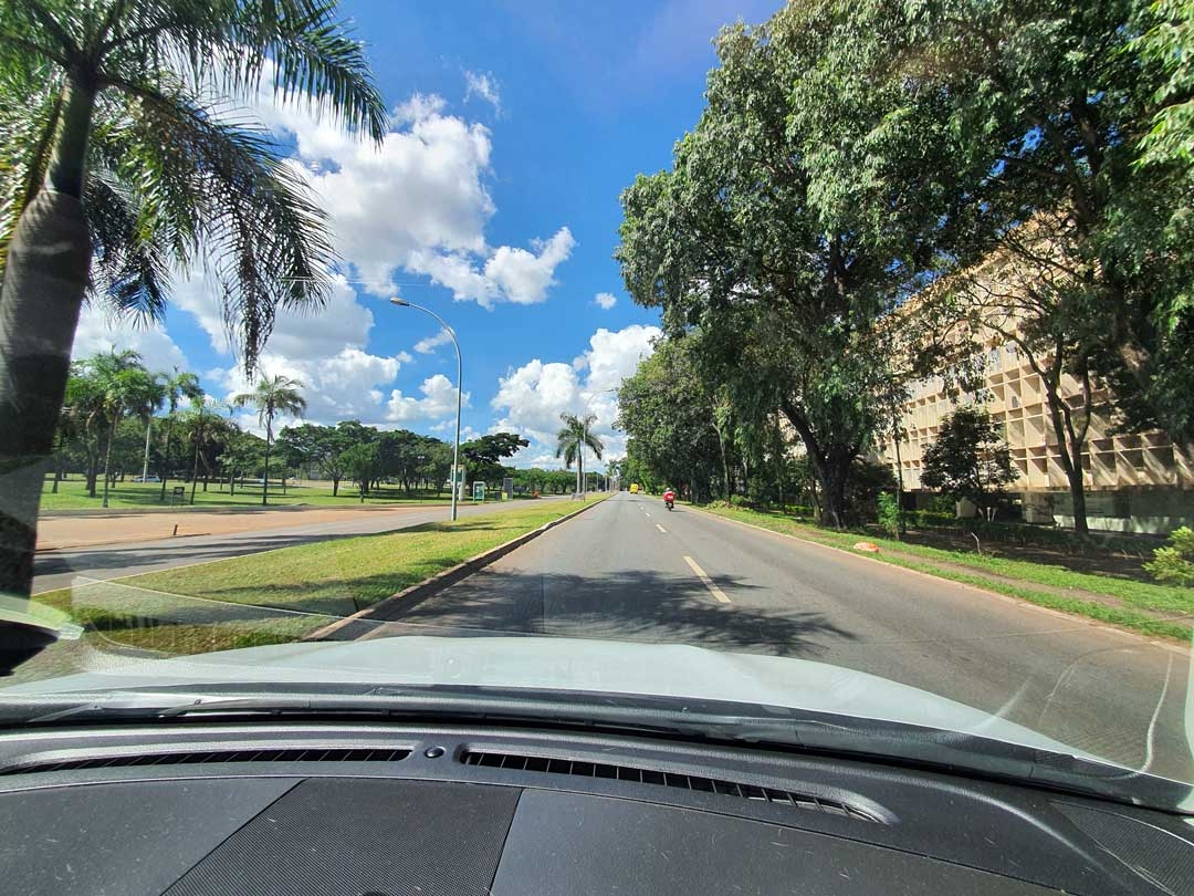 Uma Brasília que nos lembra outros tempos… Foto: Aurélio Araújo
